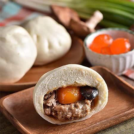 【小杜包子】蛋黃香菇肉包(6入)