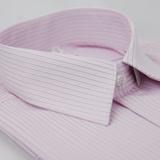 【金安德森】粉底黑線吸排短袖襯衫