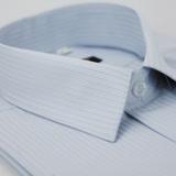【金安德森】灰底黑線吸排短袖襯衫
