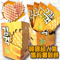 韓國Crown 馬鈴薯脆鬆餅(15盒)