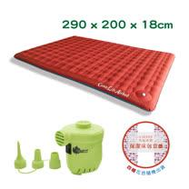 極度優眠A300 PLUS 耐磨升級版290*200cm(原廠充氣床包 幫浦 一次購足)-XL