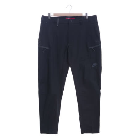 NIKE 男 休閒褲 AS M NSW BND PANT WVN SSNL 黑-861527010