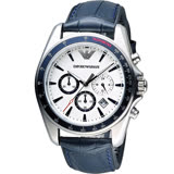 ARMANI 亞曼尼  飛鷹計時時尚腕錶  AR6096