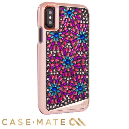 美國 Case-Mate iPhone X Brilliance Brooch 寶石胸針水鑽時尚防摔手機保護殼