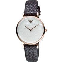 ARMANI 亞曼尼  甜美幸福時尚腕錶 AR1990