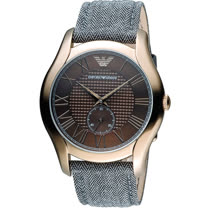 ARMANI 亞曼尼  羅馬時光時尚腕錶 AR1985
