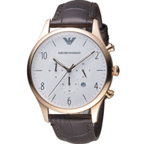 ARMANI 亞曼尼  Classic 復刻計時時尚腕錶 AR1916