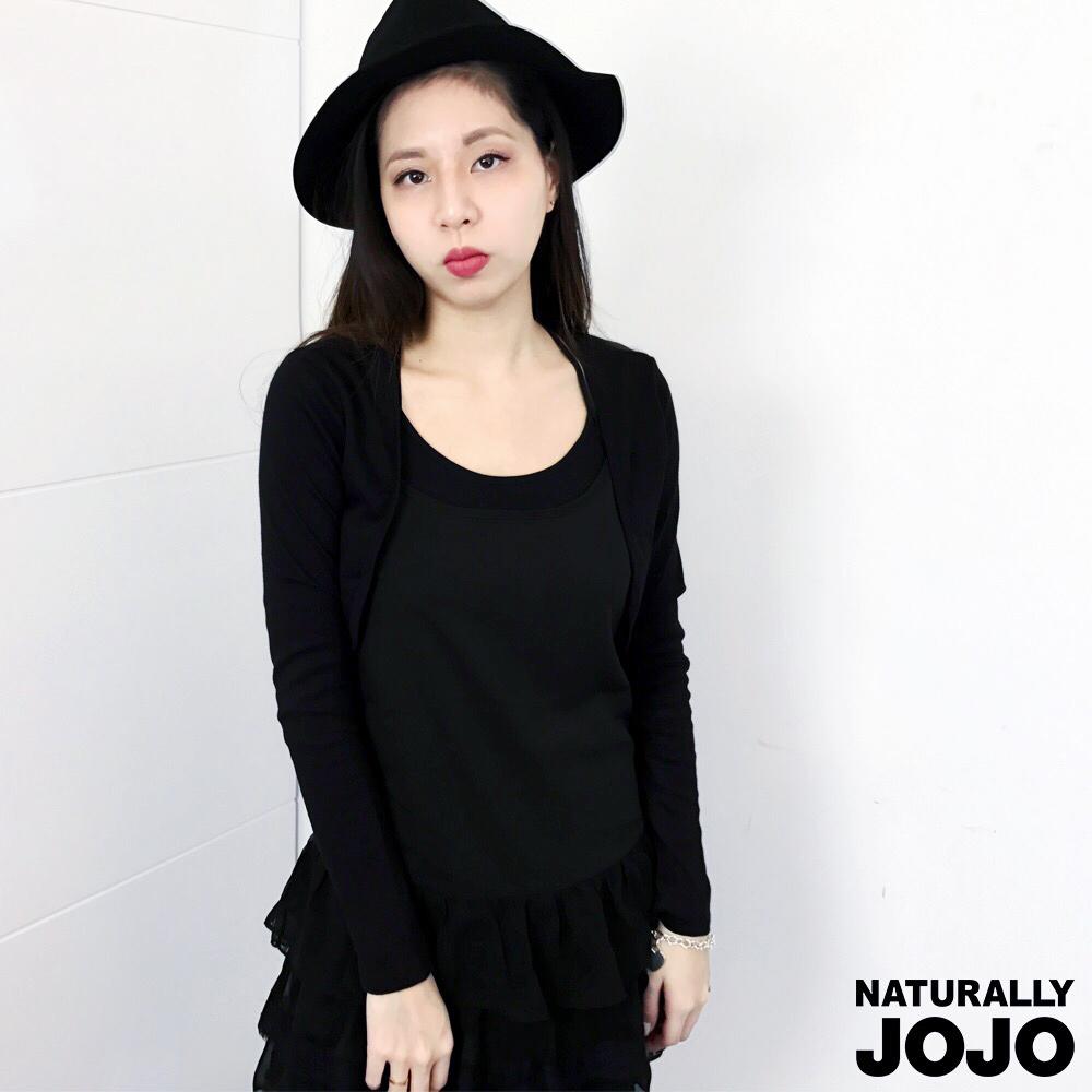 ~NATURALLY JOJO~短版長袖外罩衫
