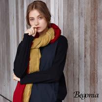 【Begonia】拼接造型口袋柔棉上衣(丈青色)