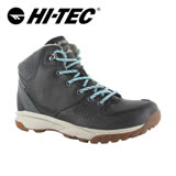 HI-TEC英國生活防水輕量中筒靴(女)O006315021(黑)