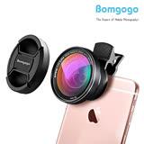 Bomgogo Govision L5 超廣角微距手機大鏡頭 mini 類單眼獨家設計 零畸變無變形(含框52mm)