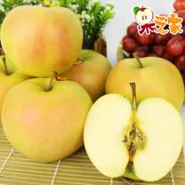 果之家 特選級日本青森縣トキ(Toki)水蜜桃蘋果18入裝禮盒1箱(單顆約270±50g)
