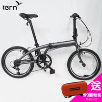 Tern Link A7 鋁合金20吋7速折疊單車-灰底灰標