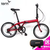 Tern Link A7 鋁合金20吋7速折疊單車-紅底紅標