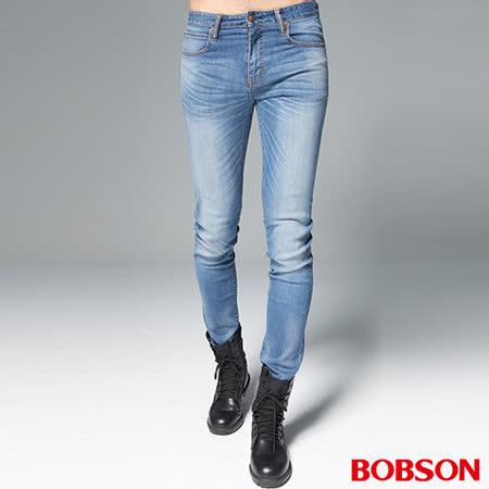 BOBSON 男款1971日本進口黑標彈性褲(BSH016-NS)