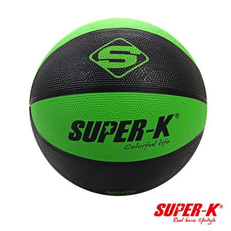 《購犀利》SUPER-K  7號雙色橡膠籃球