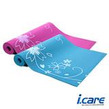 【酷博士】I.CARE。0.6cm印花瑜珈墊J6588(J6588)