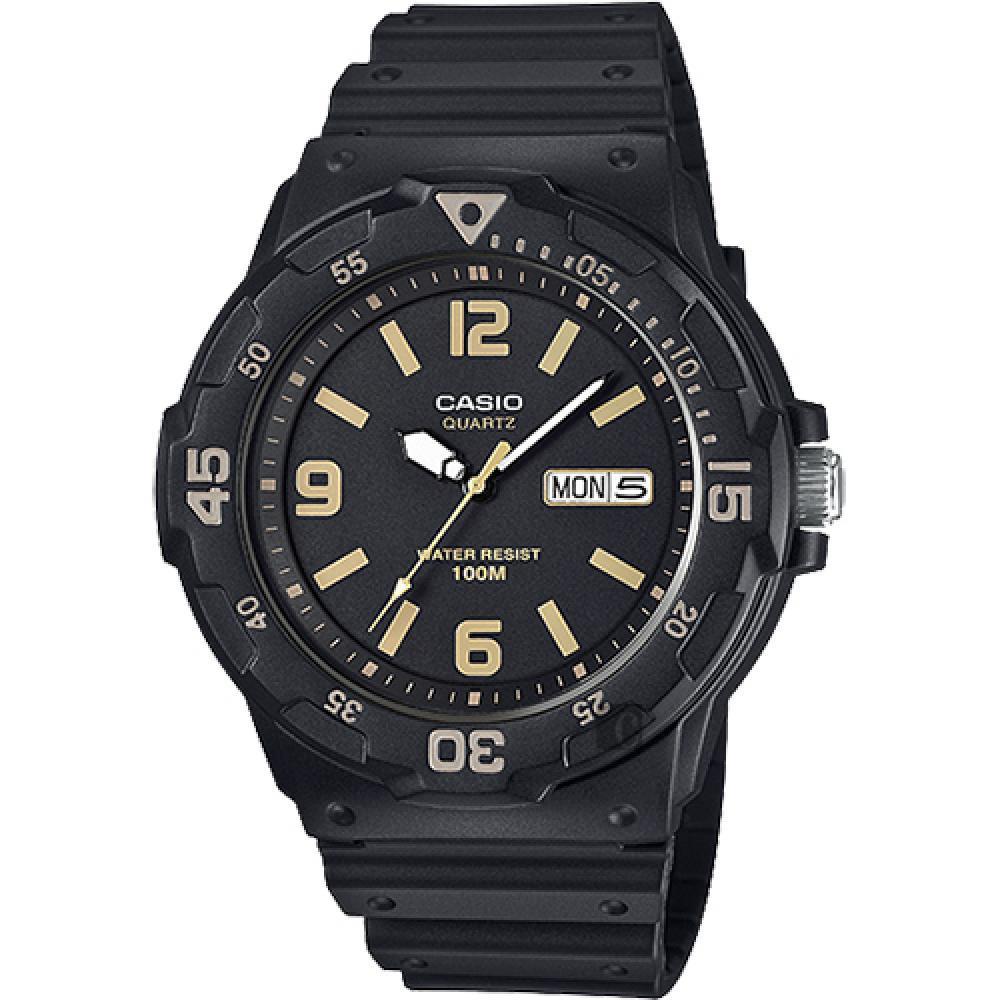 CASIO 卡西歐 DIVER LOOK 潛水 風手錶~黑 MRW~200H~1B3VDF