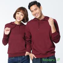 bossini男裝-連帽厚棉T恤17梅紫