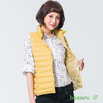 bossini女裝-高效熱能輕羽絨背心01芒果黃