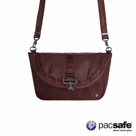 Pacsafe CITYSAFE CX CONVERTIBLE 側後兩用防盜背包 (8L) (紫酒)
