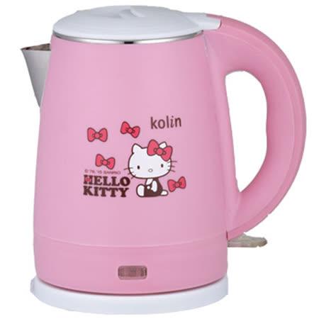 kolin  歌林 Hello Kitty 雙層隔熱不銹鋼快煮壺 KPK-MNR1032