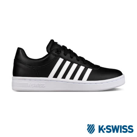 K-Swiss Cout Cheswick S休閒運動鞋-男-黑/白