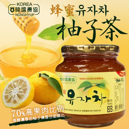【台北濱江】韓國農協蜂蜜柚子茶_果肉70%(1kg/罐)