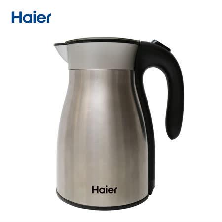 【Haier海爾】1.7L保溫不鏽鋼快煮壺 HEK-1700-1ZS