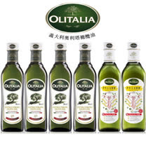 Olitalia奧利塔特級初榨橄欖油+高溫專用葵花油禮盒組(500mlx6瓶)
