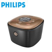 (送牛頭牌隔熱碗+蔬果清潔液*1)【PHILIPS 飛利浦】雙向智旋IH電子鍋 HD4558