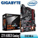 【GIGABYTE技嘉】Z370 AORUS Gaming 3 主機板