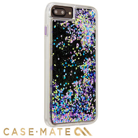 美國 Case-Mate iPhone 8 Plus/7 Plus Waterfall Glow 螢光瀑布防摔手機保護殼 - 紫