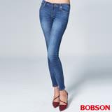 BOBSON 女款1971日本黑標大彈力窄管褲(BSL001-WD)