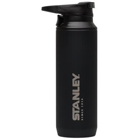美國 Stanley 登山系列 真空保溫水瓶 0.47L 黑色