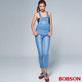 BOBSON 女款1971日本黑標吊帶褲(BSR011-FE)