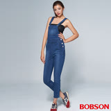 BOBSON 女款1971日本黑標吊帶褲(BSR011-WD)