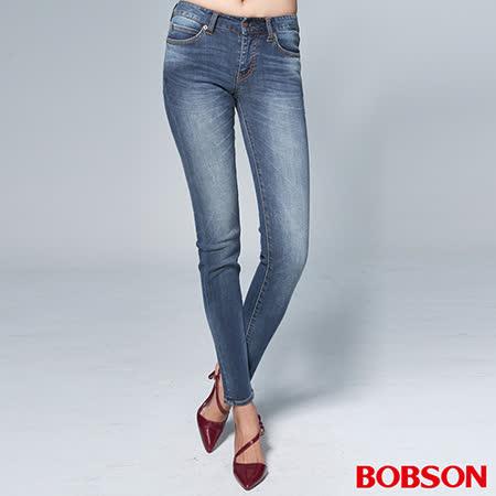BOBSON 女款1971日本進口黑標彈性褲(BSR014-WD)