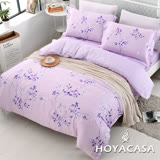 《HOYACASA卡拉》加大四件式天絲兩用被床包組