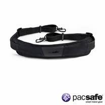 Pacsafe CARRYSAFE 200 防盜肩背帶 (黑色)
