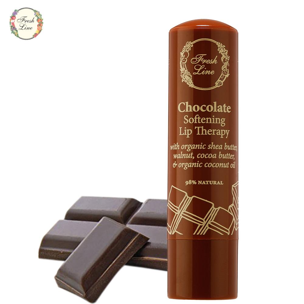 Fresh Line 巧克力柔嫩護唇膏5.4g 有效期限:2018 03