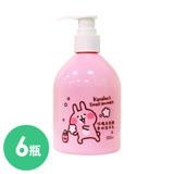 卡娜赫拉的小動物奧圖曼玫瑰香水洗手乳*6入組