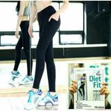 【CosmoPINK 粉紅教主】韓國直送-顯瘦爆汗運動機能長褲-PA0038