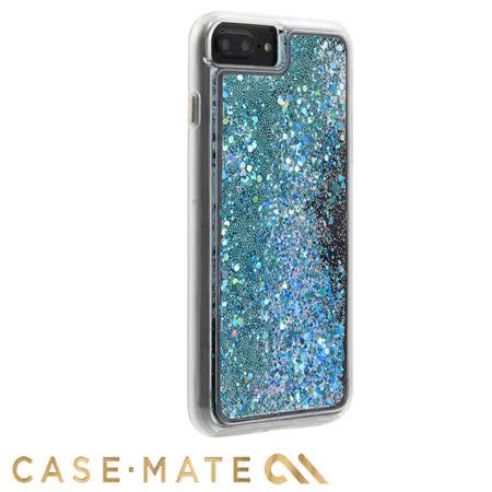 美國 Case-Mate iPhone 8 Plus/7 Plus Waterfall 亮粉瀑布防摔手機保護殼 - 藍綠