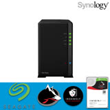 【 IronWolf 3TBx2 】Synology 群暉科技 DiskStation DS218play NAS 2Bay 網路儲存伺服器