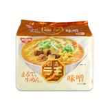 日清 麵王-味噌風味510g 5包入