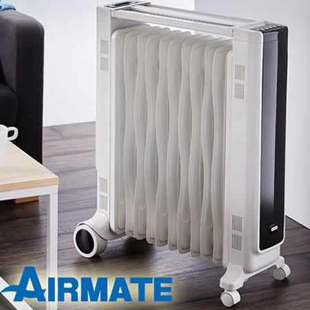 艾美特AIRMATE 11片葉片式遙控電暖器/HU1157R