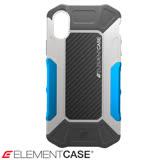 美國 Element Case iPhone X Formula 強化防摔手機保護殼 - 灰藍