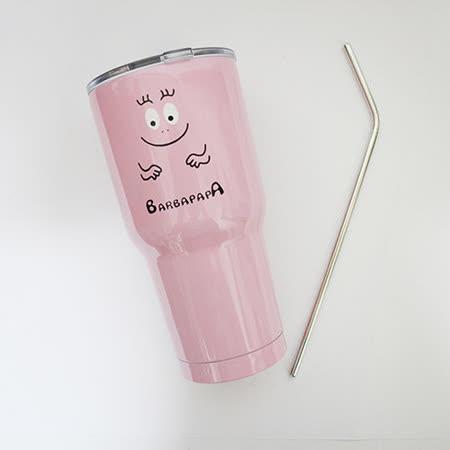 泡泡先生超酷极冷冰霸杯900ml+304不锈钢吸管 超值两组