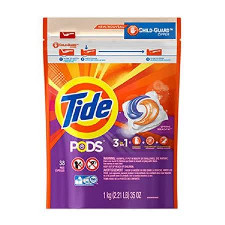 美國 Tide 汰漬 洗衣凝膠球3效合1